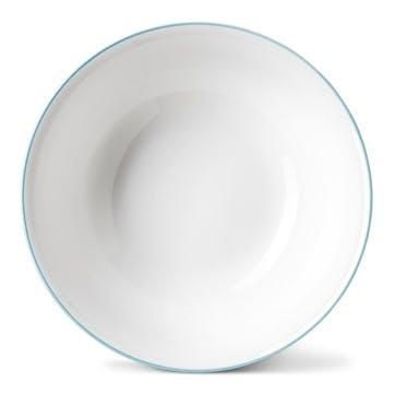 Rainbow Cereal Bowl, Aqua