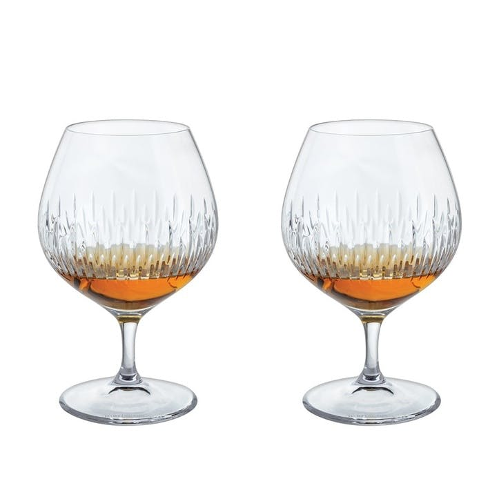 Limelight Mitre Brandy Glass, Set of 2