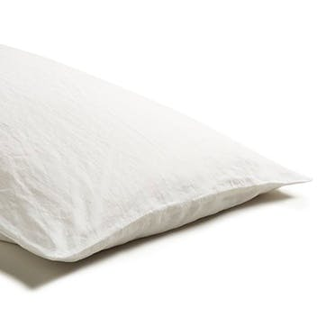 Pair of Kingsize Pillowcases White