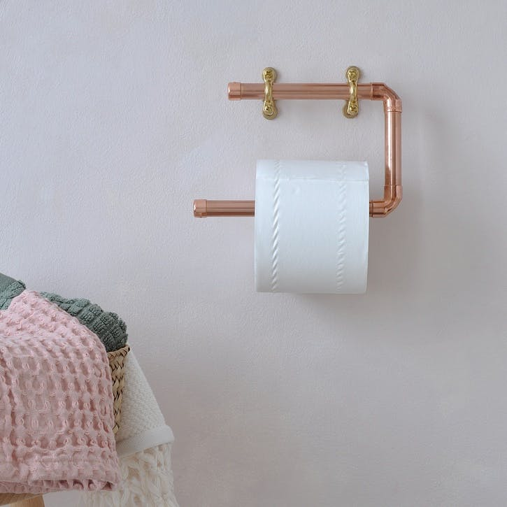 Copper Toilet Roll Holder