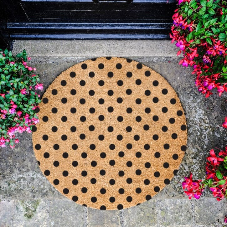 Oh Hello Dotty Doormat