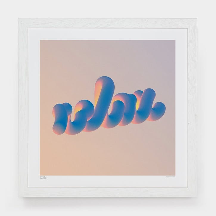 Milla Ódor, Relax Art Print, Unframed, Small