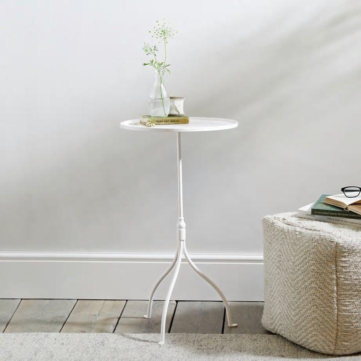 Holkham Side Table, White