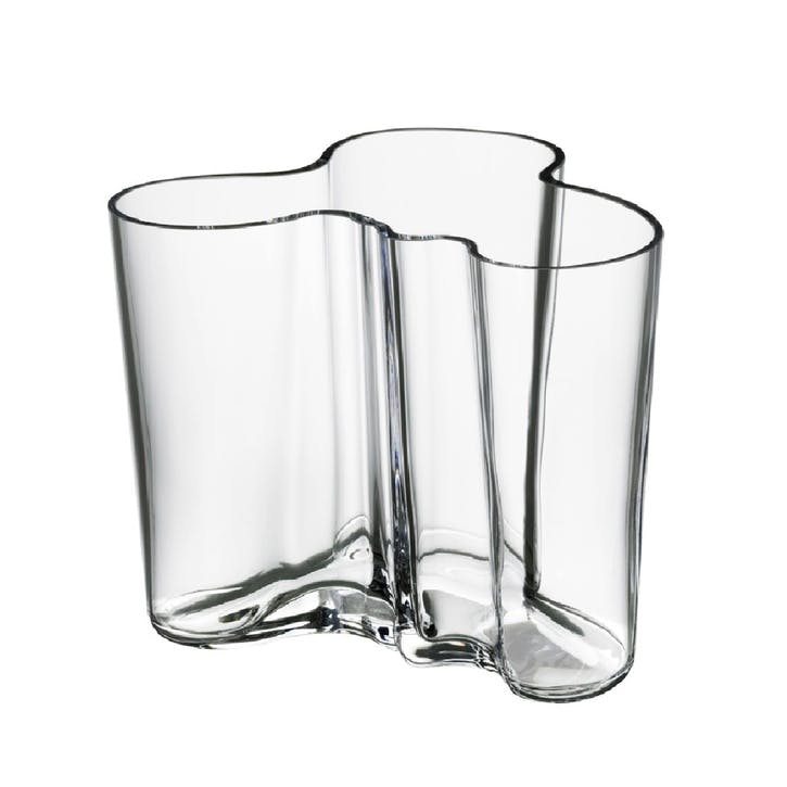 Aalto 120 Vase, Clear