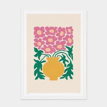 Liv Lee, Loosey Goosey Camelias Art Print, Unframed, A2