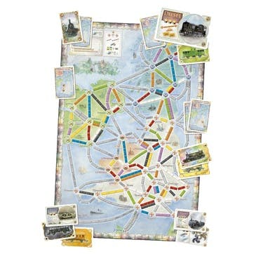 Ticket to Ride United Kingdom Edition Board Game - Extension Pack