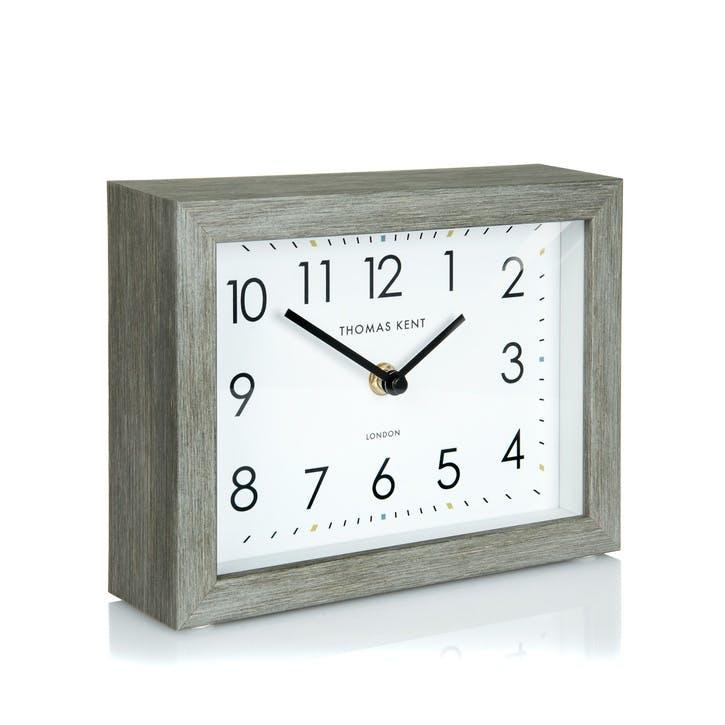 Smithfield Mantel Clock, 18cm, Limestone