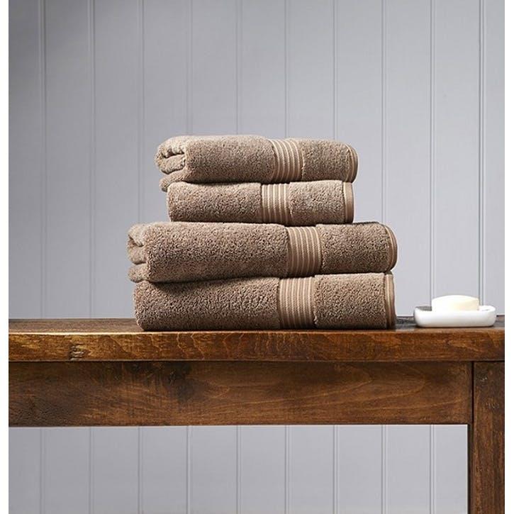 Supreme Supima Hygro Mocha Bath Towel