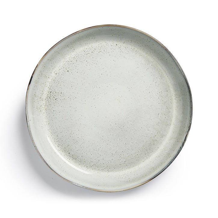 Osby Servering Plate, Light Grey