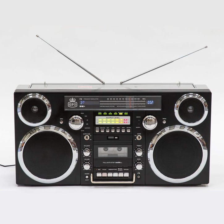 Brooklyn Boombox; Black