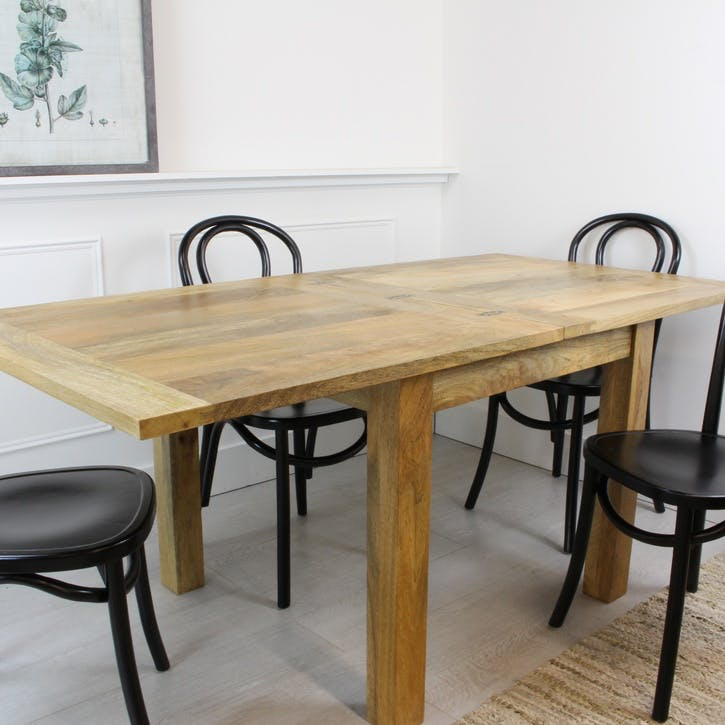 Extendable Butterfly Dining Table