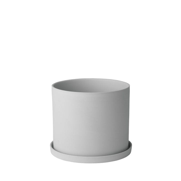 Herb Pot/ Planter, Light Grey
