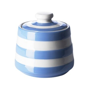 Sugar Bowl, 10cm, Blue