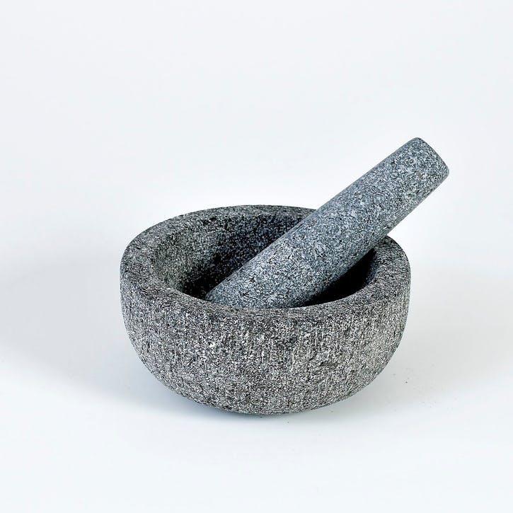 Granite Pestle & Mortar, 17cm