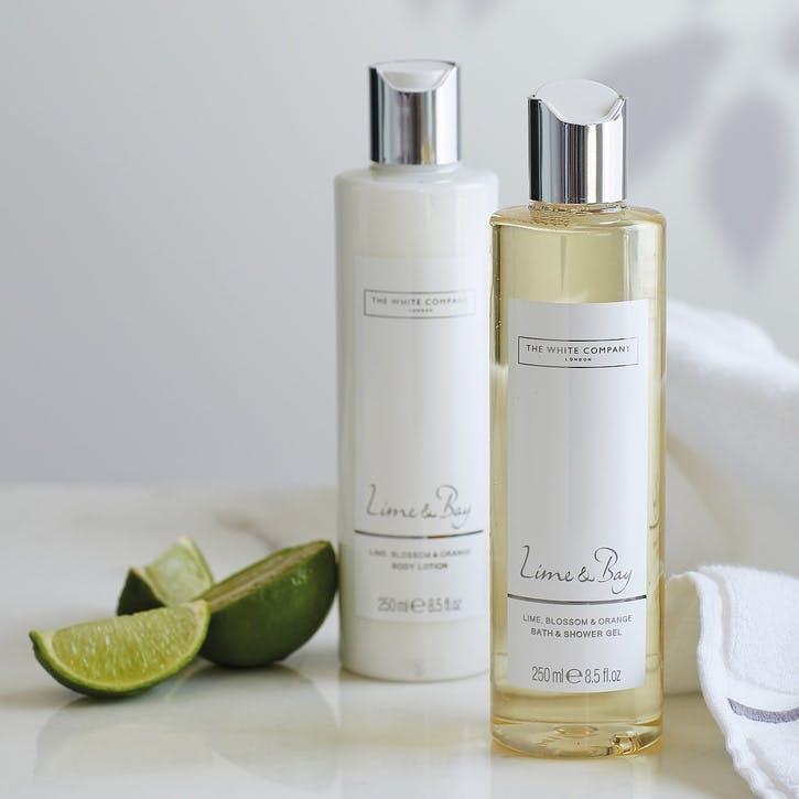 Lime & Bay Bath & Body Gift Set