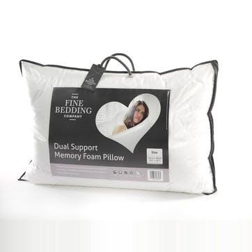 Dual Support Memory Foam Pillow