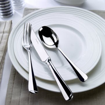 Everyday Classics Rattail Cutlery Canteen Set - 44 Piece