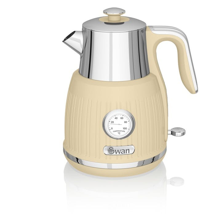 Retro Jug Kettle, Cream