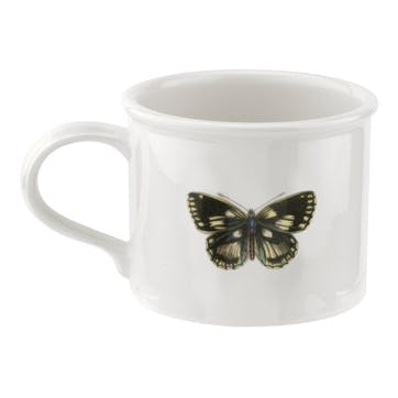 Breakfast Cup & Saucer, Moss Green