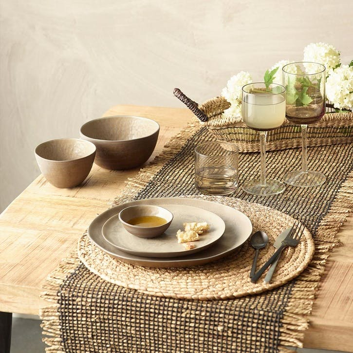 Kimo Seagrass Placemat, Set of 6, Natural