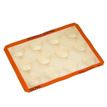 Non-Stick Classic Muffin / Yorkshire Pudding Tray 40cm x 29.5cm