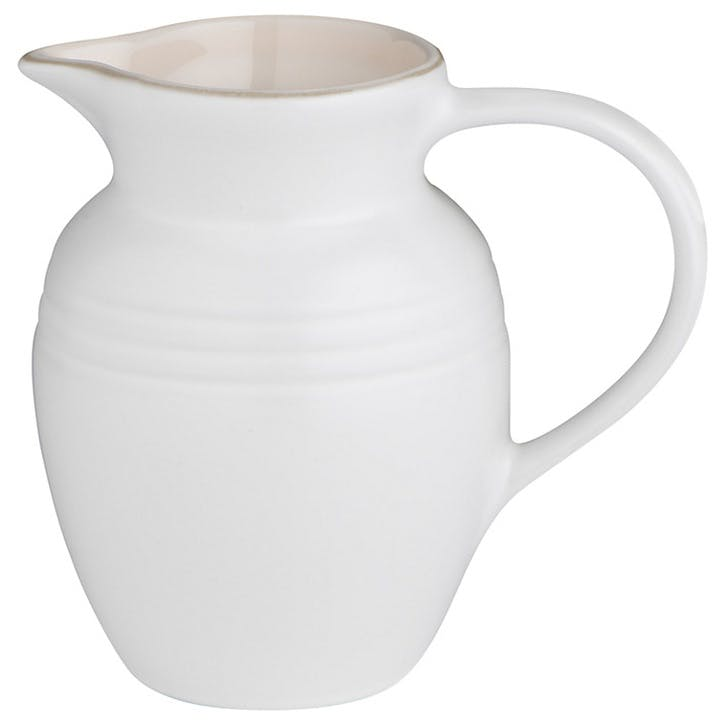 Stoneware Jug - 0.6L; Cotton