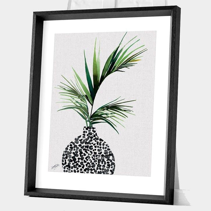 Summer Thornton Areca Palm Plant Framed Print, 55 x 45cm
