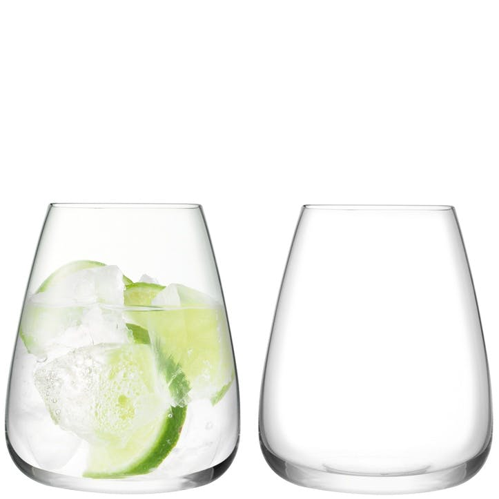 Wine Culture Set of 2 Water Glasses