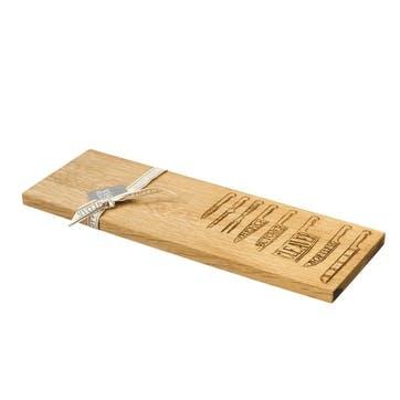 Knives Serving Platter