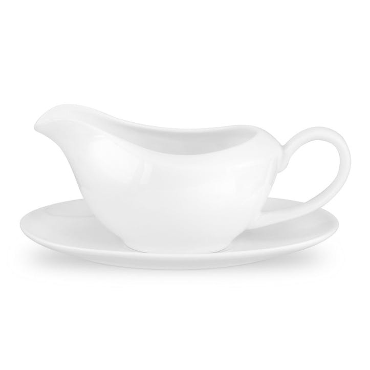 Serendipity Gravy Boat and Stand