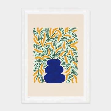 Liv Lee, Loosey Goosey Wattle Art Print, Unframed, A2