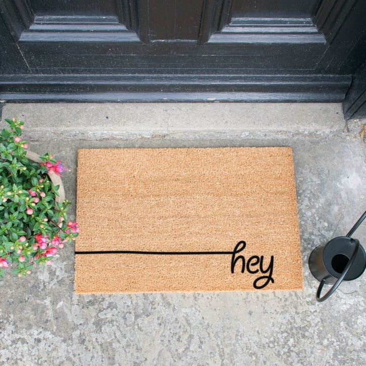 Hey Scribble Doormat