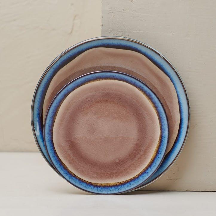 Dakara Dinner Plate; Dusky Pink