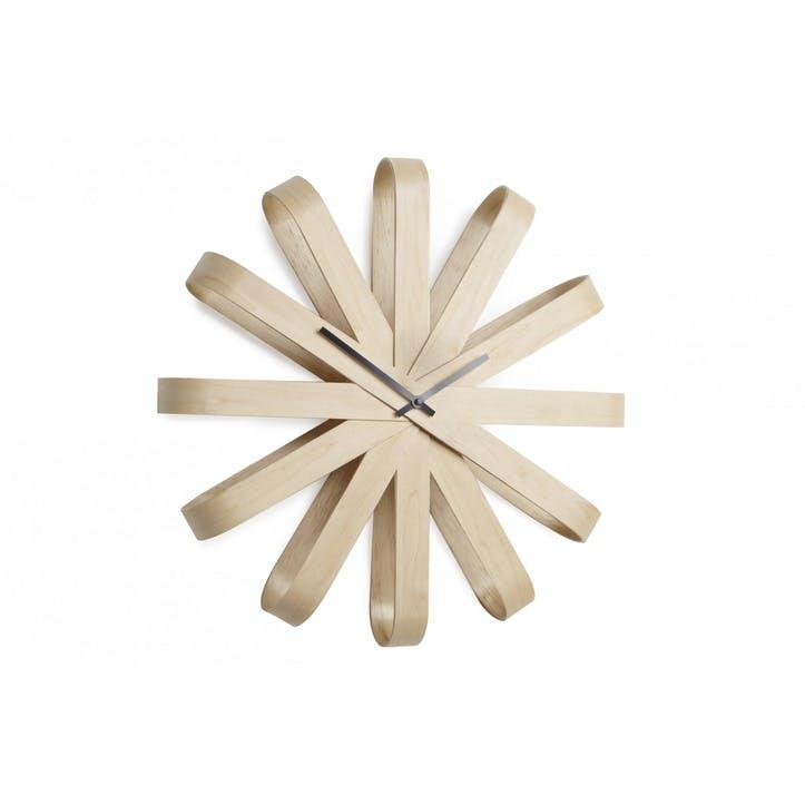 Ribbonwood Wall Clock