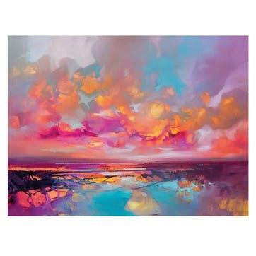 Scott Naismith Dissolving Shoreline Canvas Print, 30 x 40cm