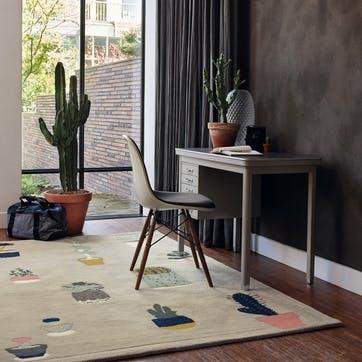 Cactus, Rug, 170 x 240cm, Grey