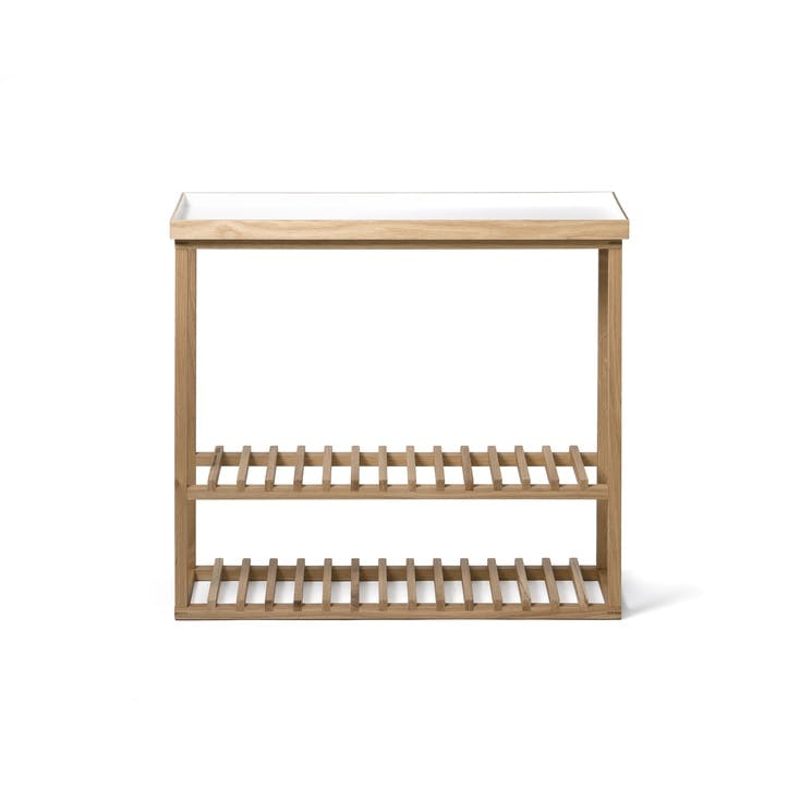 Hello Storage Table, White