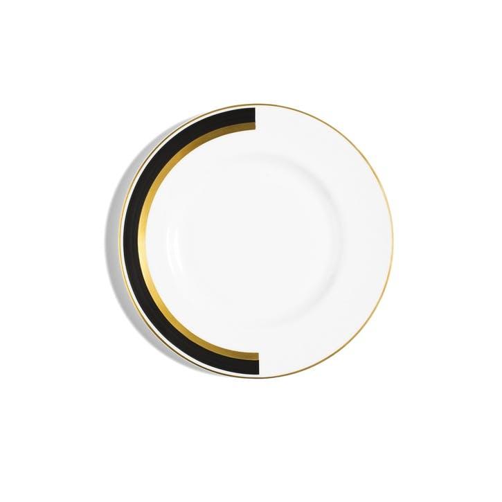 Arc Rimmed Salad Plate
