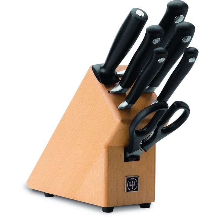 Classic Grand Prix II 7 Piece Knife Block Set