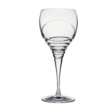 Saturn Large Crystal Wine Glasses, Set of 2