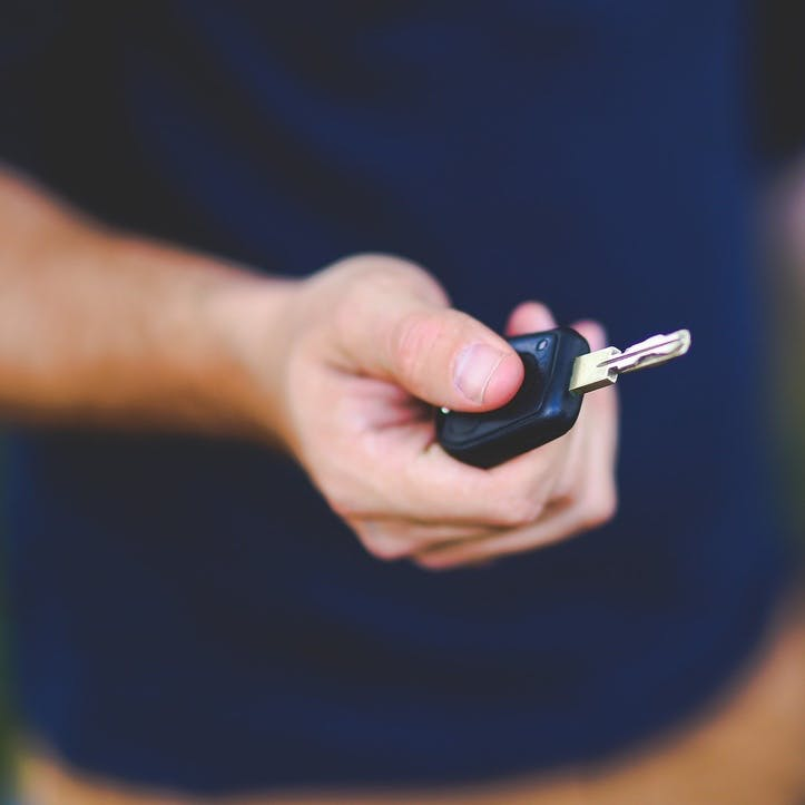 I promise to lend you my car