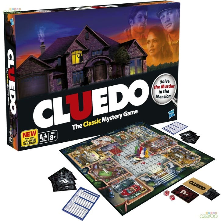 Cluedo: The Classic Mystery Board Game
