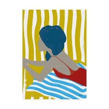 Finales De Agosto, Lentov Art Print