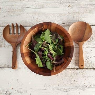 Tuscany Siena Salad Servers, 24cm