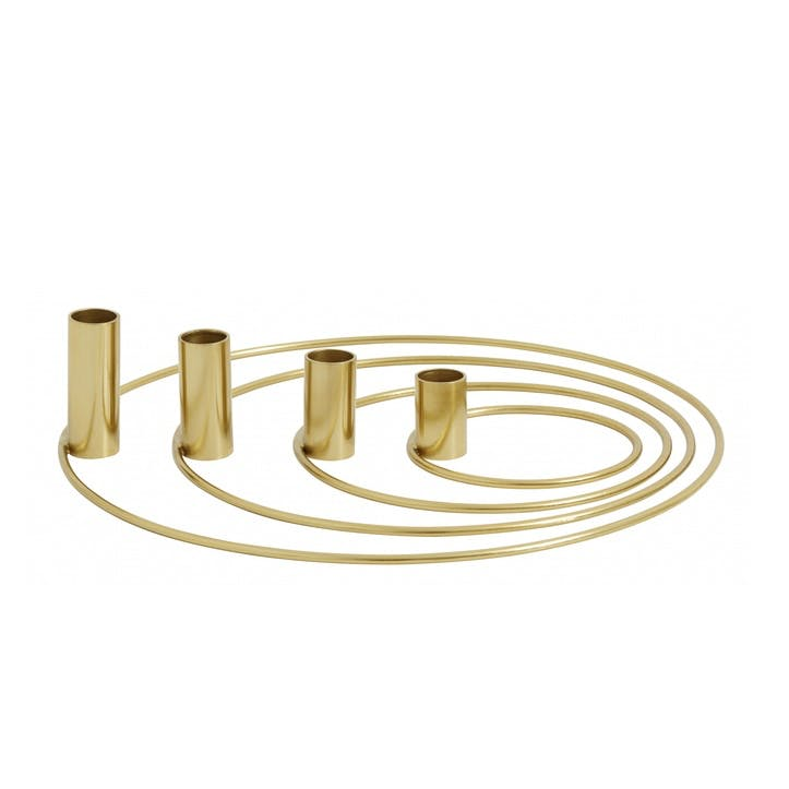Brass Advent Candle Holder