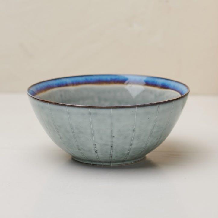 Dakara Serving Bowl; Grey