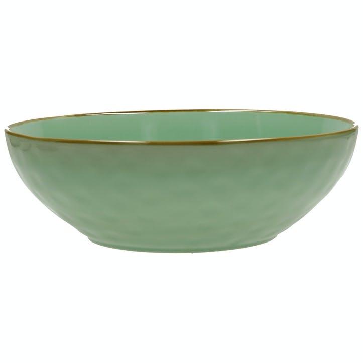 Concerto Salad Bowl, Tiffany Green