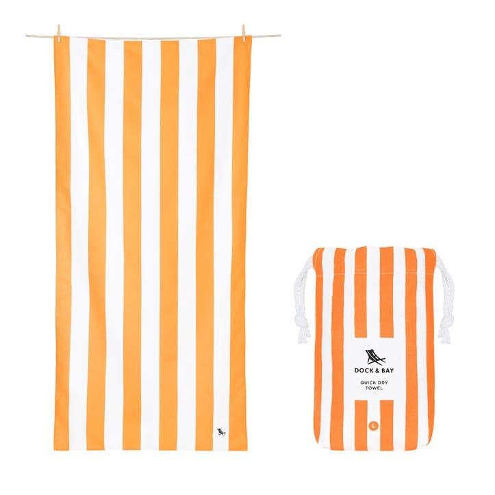 Cabana Beach Towel, Ipanema Orange, Extra Large
