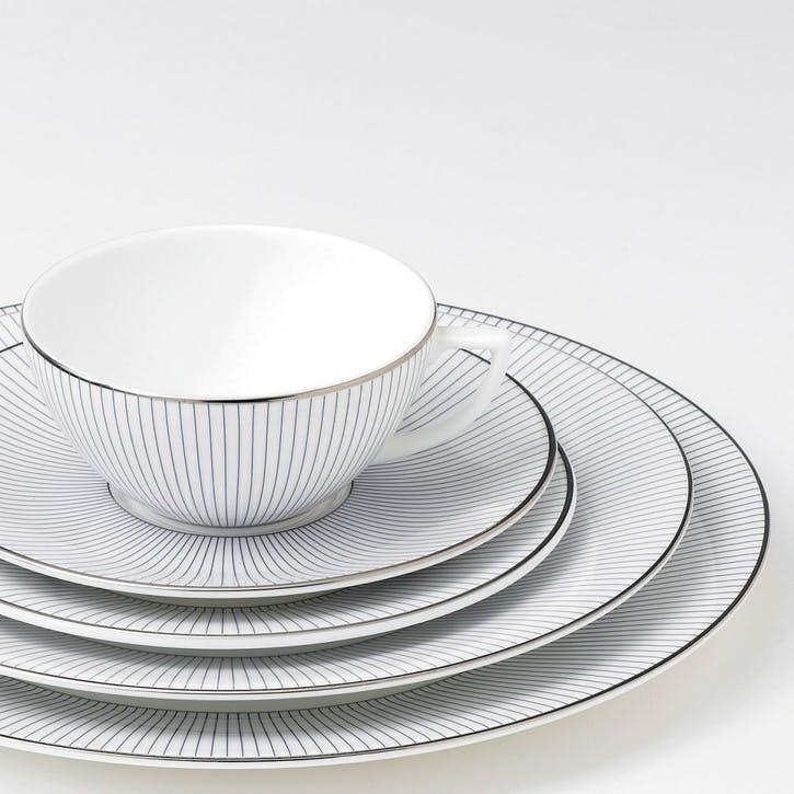 Pin Stripe Serving Bowl, Oval