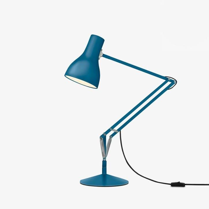 Type 75 Margaret Howell Desk Lamp, Saxon Blue
